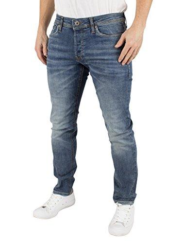 JACK & JONES Jjiglenn Jjoriginal Am 152 Sps Noos, Jeans Hombre Azul