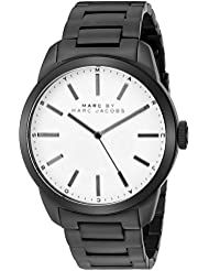 Marc by Marc Jacobs Mens MBM5089 Dillon Analog Display Analog Quartz Black Watch