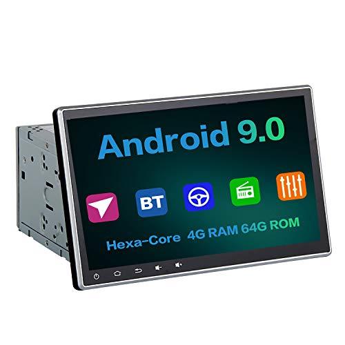 "Dasaita 10.2"" Android 9.0 Universal Car Radio Double Din Built-in"