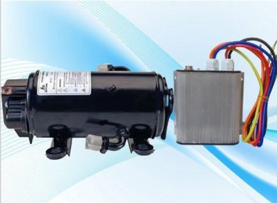 Gowe 12v brushless motor compressor 850w for 12 volt rv for Air conditioner compressor motor