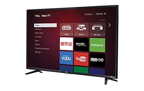 TCL 48FS3750 LED Television with 1080P 120 HZ Wi-Fi, 48
