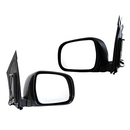 Titanium Plus 2004-2010 Toyota Sienna Front,Left,Right DOOR MIRROR Pair (Toyota Sienna Left Door Mirror)