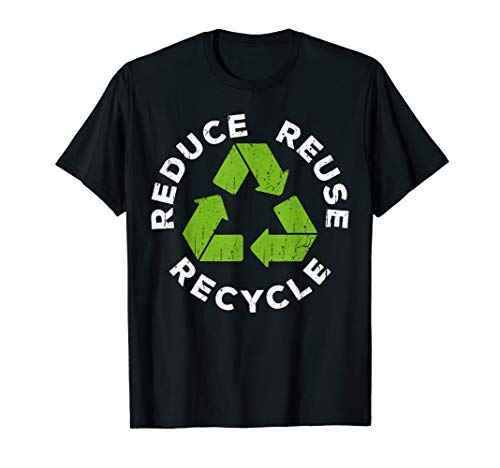 Reduce Reuse Recycle T-Shirt Earth Day 2019 Shirt T-Shirt