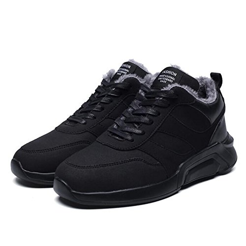 Men's Shoes Feifei High-Quality Materials Sports and Leisure Winter Keep Warm Plate Shoes 2 Colours 01 rqYwv9wjv