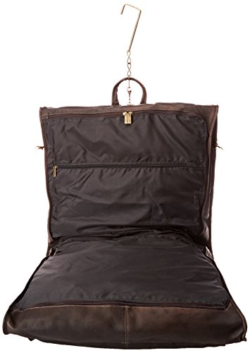 David King & Co. 42 Inch Garment Bag Deluxe, Cafe, One Size by David King & Co