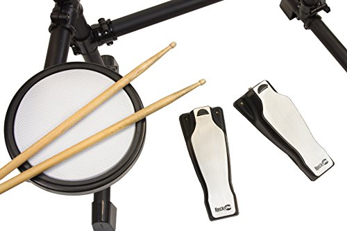 RockJam Mesh Head Kit, Eight Piece Electronic Drum Kit with Mesh Head, Easy Assemble Rack and Drum Module including 30 Kits, USB and Midi connectivity by RockJam (Image #5)