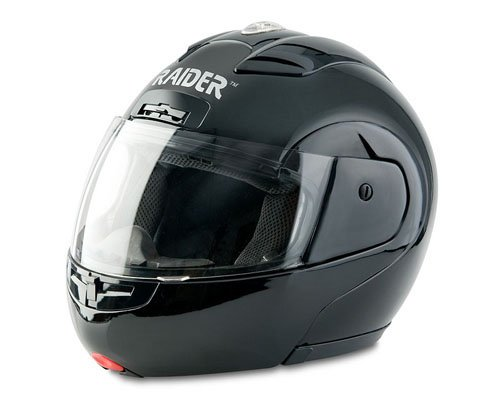 Raider Modular Helmet (Black, Large)
