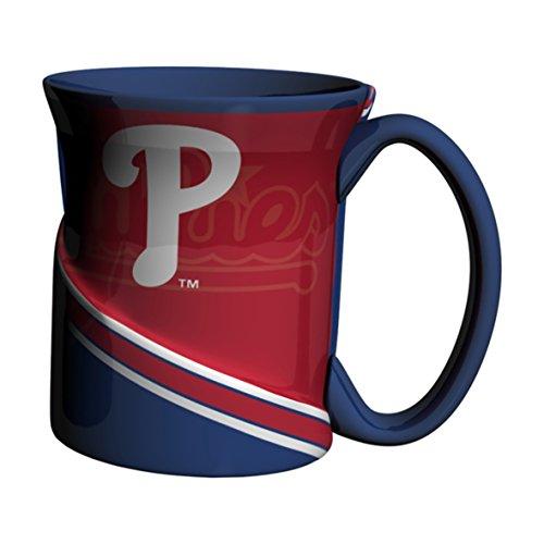 Boelter Brands MLB Philadelphia Phillies Twist Mug, 18-Ounce