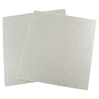 uxcell Mica Plates Sheets Microwave Oven Repairing Part 13 x 12cm 2 Pcs