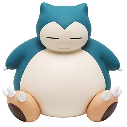 Alone Snorlax Piggy Bank Money Banks Birthday Gift for Kids Child Toy (Big Belly Sit)