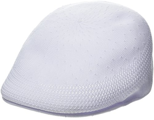 Kangol Men's Tropic 507 Ventair Ivy Cap, White, L