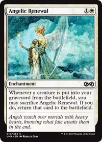 Ultimate Masters ANGELIC RENEWAL #10 Common white Playset of 4 MINT