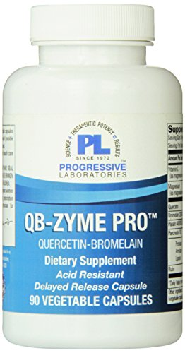 Progressive Labs QB-Zyme Pro Supplement, 90 Count