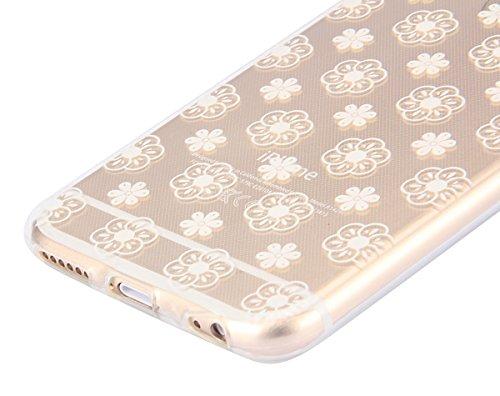 iPhone 6S Hülle, iPhone 6 Hülle, iPhone 6 Silikon Schutz Handy Hülle Kratzfeste Tasche Handyhülle, iPhone 6S TPU Gel Case Weiches Bumper Schutzhülle, SainCat Silikon Crystal Clear Case Durchsichtig Ma
