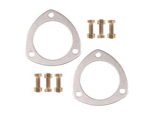 Mr. Gasket 7421G Solid Aluminum Collector Header and Muffler Gasket ()