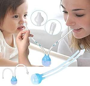 Aspirador Nasal para Mocos del Bebé - Azul: Amazon.es: Bebé