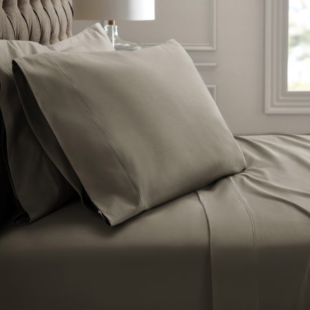 Hotel Style 1100-Thread Count Queen Sheet Set (Taupe) (Manatee Grey, Queen)