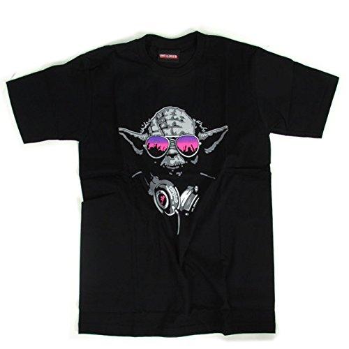クローンくるみネット(リトルウッド) LittleWood スターウォーズ ヨーダ YODA パロディ 半袖 tシャツ [T380]