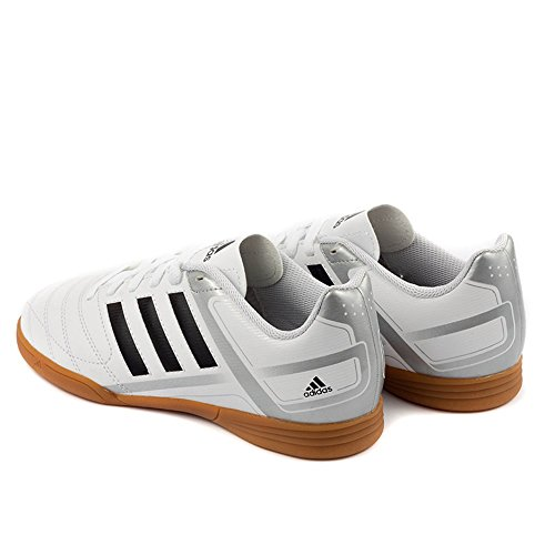 Adidas - Puntero IX IN - Color: Blanco-Plateado - Size: 44.0
