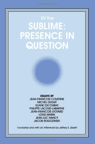 of-the-sublime-presence-in-question-suny-series-intersections-philosophy-critical-theory