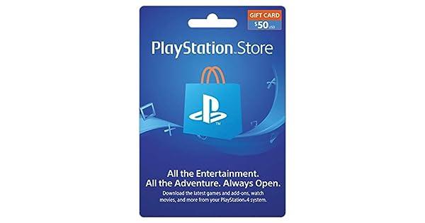 Amazon.com: Sony Playstation 50 Dólar Live Tarjeta para la ...