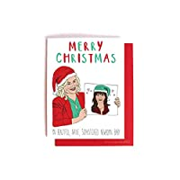 Leslie Knope Ann Perkins Parks and Recreation Christmas Holiday Card