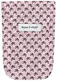 Diapees and Wipees Accessory Bag - Pink Goth Baby