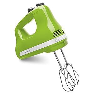 KitchenAid KHM512GA 5-Speed Ultra Power Hand Mixer, Green Apple