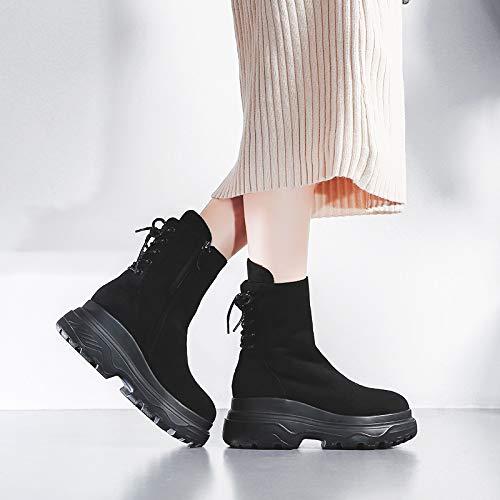ZHRUI Stiefel (Farbe   Schwarz, Größe     EU 37) 2c032d