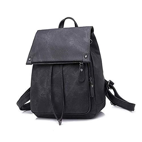 Yidarton Women Backpack Purse Leather Waterproof Anti-theft School Bags Lightweight Travel Shoulder Bag