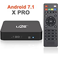 2017 New Model Android 7.1 Smart TV Box X PRO Amlogic S905X 2GB RAM 8GB ROM Quad Core 64 bit Support 3D 4K H.265 VP9 Media Player