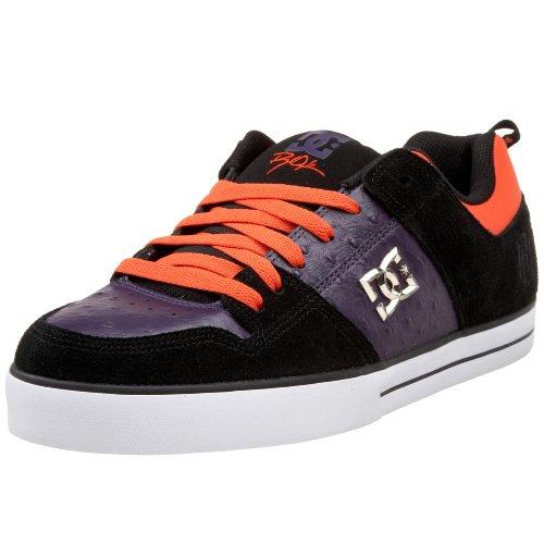 DC Men's RD 1.5 Skate Shoe,Black/Plum,7.5 M US