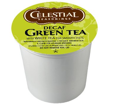 Celestial Seasonings DECAF Green Tea K-Cup 48 Count Case (Best Keurig Green Tea)