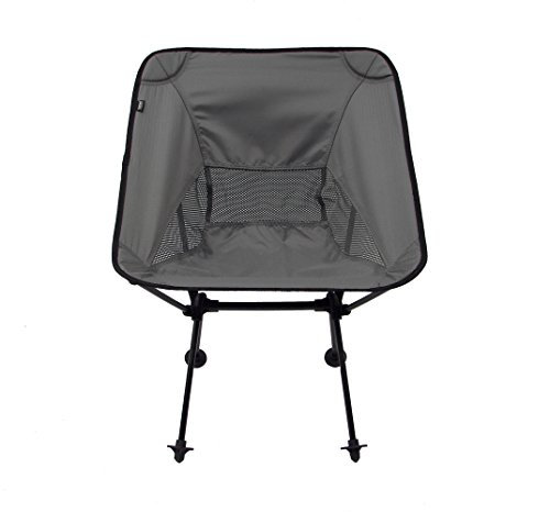 Travelchair Joey Chair, Portable Camping Chair, Super Compact Storage, Black