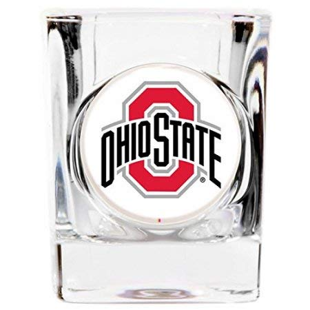 Great American Products Ohio State Buckeyes 2oz. Logo Square Shot Glass