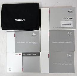 2015 nissan juke owners manual guide book amazon com books rh amazon com nissan juke owners manual juki owner's manual