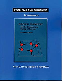 Physical chemistry for the chemical and biological sciences raymond problems and solutions to accompany changs physical chemistry for the chemical biological sciences fandeluxe Images