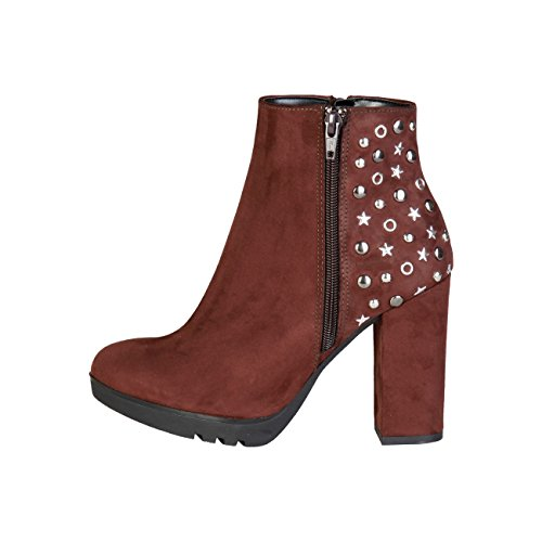 Ankle bootsWomen Brown 3CVDDh