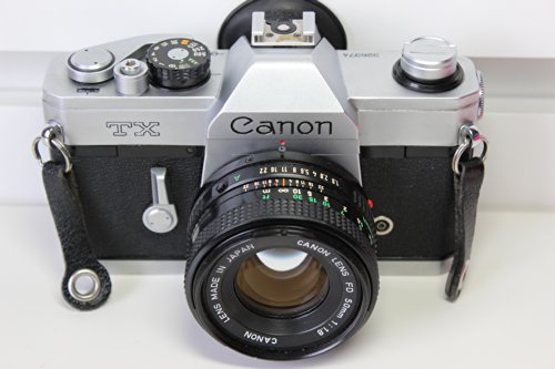 (Canon TX 35mm Film Camera with Canon FD 50mm Lens)
