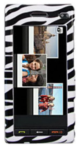 (Amzer Snap-On Crystal Hard Case for Samsung Memoir T929 - Zebra Print)