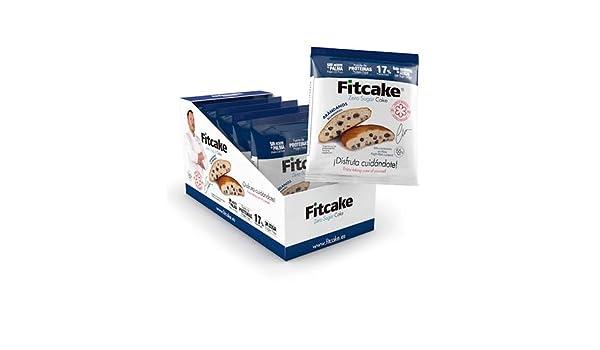 Fitcake® Bizcocho sin azúcar, Proteico, Sin aceite de palma, Dulce y Esponjoso Sabor Arándano 6 Uds x 55 gr: Amazon.es: Salud y cuidado personal