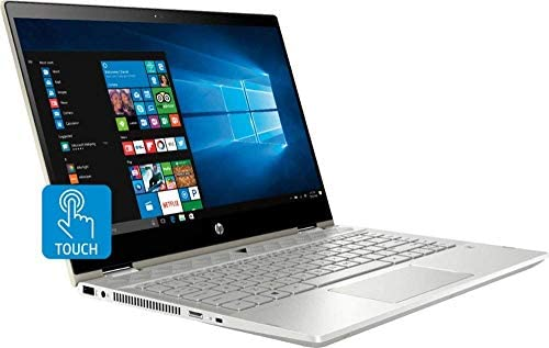 """HP Pavilion x360 14"""" FHD WLED Touchscreen 2-in-1 Convertible Laptop, Intel Quad-Core i5-8250U 1.60GHz up to 3.4GHz, 8GB DDR4, 256GB SSD, WiFi, Bluetooth, Webcam, HDMI, Fingerprint Reader, Windows 10 WeeklyReviewer"""