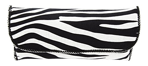 Womens Fashion Eyewear Case For Small To Large Glasses In Stylish Animal Print