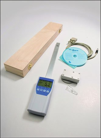 Humimeter RH5 Paper Moisture Meter with Datalogger, Measuring Range 0 to 100% by Humimeter