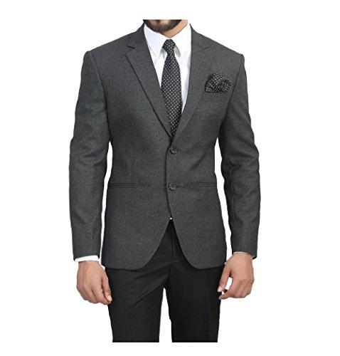 ManQ Men's Slim Fit Formal Blazer