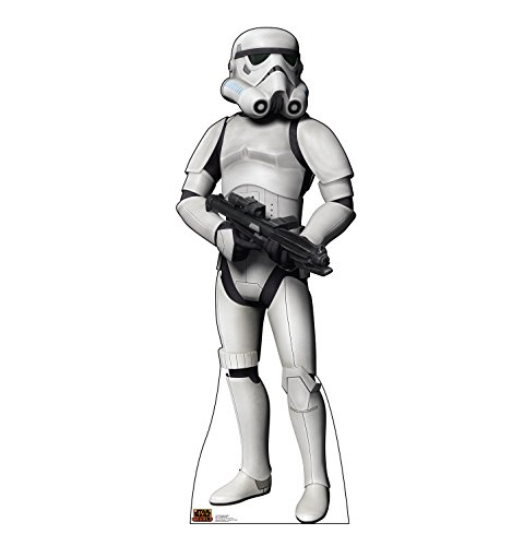 (Advanced Graphics Storm Trooper Life Size Cardboard Cutout Standup - Disney's Star Wars Rebels)