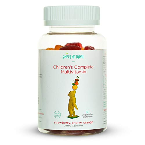 Simply Natural Children's Complete Multivitamin Gummy, Non-GMO, Vegetarian, Toddler Approved (30 Day Supply) (The Importance Of Giving Back To Your Community)