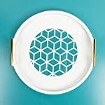 Kate-and-Laurel-Caspen-Round-Cut-Out-Pattern-Decorative-Tray-with-Gold-Metal-Handles-White