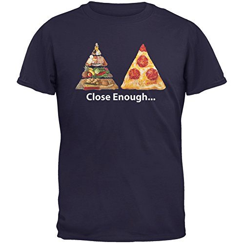 food pyramid pizza shirt - 1