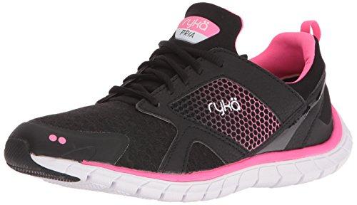 Ryka Womens pria Running Shoe Black/Pink